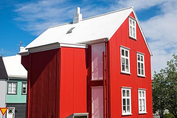 白い屋根は温暖化対策になる