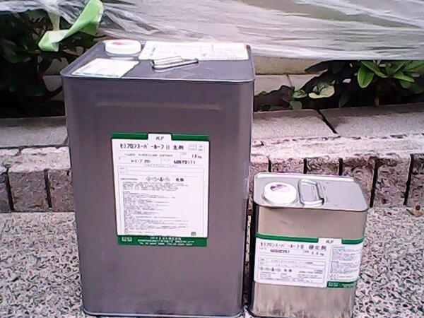 無機塗料の缶