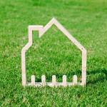 草原の中の家
